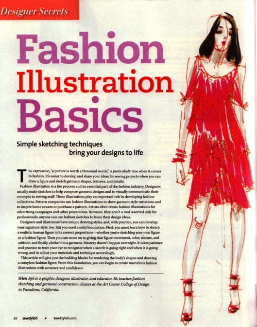 Article in Threads Magazine Summer 2012